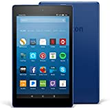 "All-New Fire HD 8 Tablet With Alexa, 8"" HD Display, 16 GB, Marine Blue"