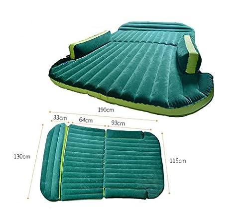 Lit d'air de la SZXC Air pour voiture Voiture de voiture universelle lit gonflable pour voiture Lit de voyage pour voiture pour VUS et voiture, voyage, camping, sommeil 130cm * 190cm , blue ash convenient