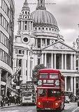 Libretas Londres: Libreta Dina 5, Libreta Rayada, Libreta Rayada A5, Blogs y Cuadernos de Notas - Libreta Londres #3 - Tamaño: A5 (14.8 x 21 cm) - 110 ... pequeña,libretas bonitas,notizbuch,libreta)