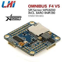 LHI Omnibus FPV AIO F4 V5 Flight Controller Based on F405 MCU for FPV Racing Drone Quadcopter