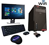 #9: ROLLTOP™ Assembled Desktop Computer |INTEL CORE 2 DUO 2.9 GHZ Processor |G 31 FRONTECH/ZEBRONICS Motherboard |Consistent 15 inch LED Monitor |2 GB RAM | 250 GB Hard Disk| INTEX/FRONTECH Cabinet | FRONTECH Keyboard Mouse | Mini Wi Fi USB Adaptor | Windows 7 Installed (Trial Version)(Intex)