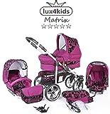 Chilly Kids Matrix 2 poussette combinée Set - été (parasol, siège auto &...