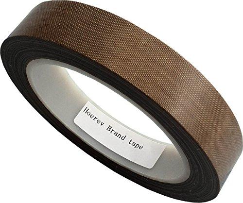 hoerev-teflon-ruban-adhesif-de-tissu-de-verre-enduit-ptfeepaisseur-013mm-longueur-30m