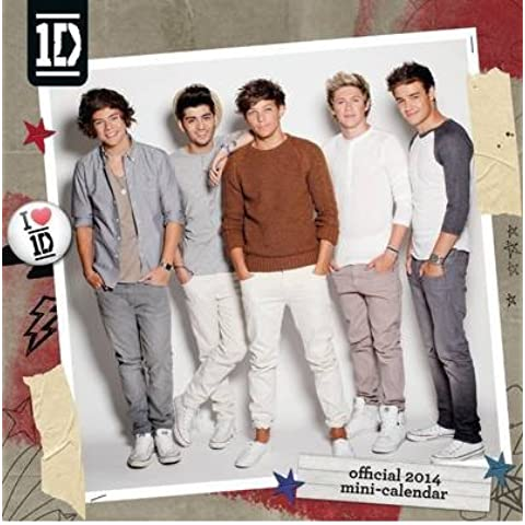 [(Official One Direction Square 2014 Calendar (16 Month))] [ Danilo Promotions Limited ] [September, 2013]