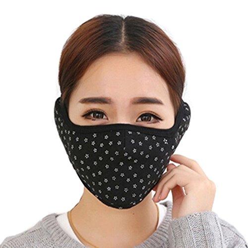 Frauen-Sterne Kaltbeweis warme Ohren Mund Gesichtsmaske, (Gasmasken Coole Zum Verkauf)