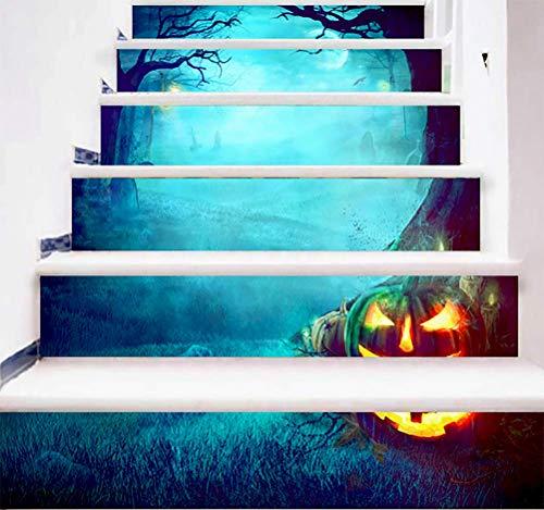 DFGTHRTHRT 3D Simulation Treppenaufkleber entfernbare Wasserdichte Wandaufkleber Schlafzimmer Wohnzimmer DIY Tapete Wandabziehbilder (Color : WLT002, Size : OneSize)