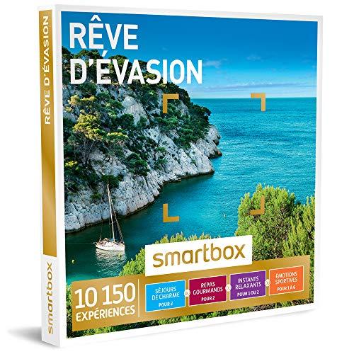 SMARTBOX - Coffret Cadeau - RÊVE D'ÉVASION - 6195 expériences : séjour, séance...