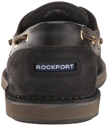 Rockport Herren Perth Bootsschuhe Schwarz