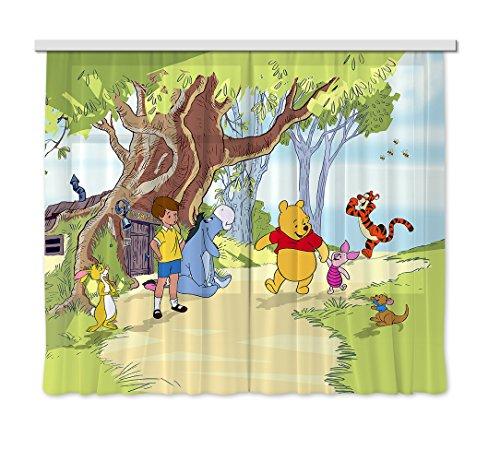 AG Design Tenda/Tenda FCC XXL 4012cameretta Disney Winnie The Pooh