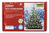 Idena LED Lichterkette 200er