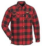 Pinewood Herren Canada Hemd Klassik, Rot, XXL