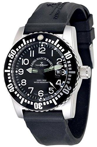 Zeno-Watch Reloj Mujer - Airplane Diver Quartz Numbers - 6349-515Q-12-a1