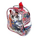 DC Comics Justice League DARP-odcc004 casco / Knee Pad / gomito pad e protettore tasca Confezione