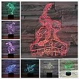 Nachtlicht dekorative Mehrfarbenlichtjungenkinderbabygeschenktischlampe-Nachttisch