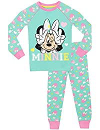 Disney Minnie Mouse - Pijama para niñas - Minnie Mouse - Ajust Ceñido