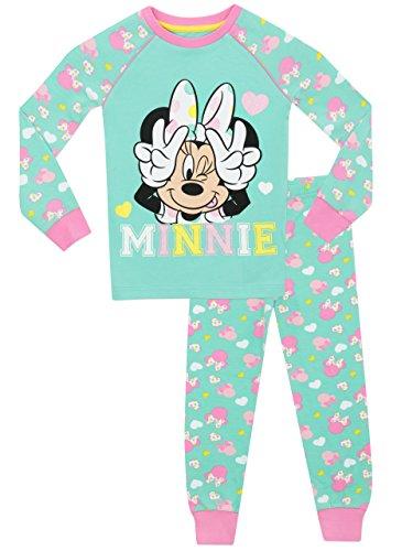�dchen Minnie Mouse Schlafanzug - Slim Fit - 92 cm (Maus-silhouette)