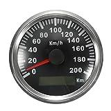 RISHIL WORLD 200 KM/H GPS Speedometer Waterproof Digital Gauges Car Motorcycle Auto Stainless