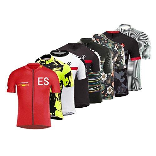 Imagen de burningbikewear uglyfrog 2018 deportes al aire libre hombres primavera/verano respirable de manga corto jersey ciclismo triatlón ropa bicicleta maillots dxmz08