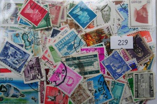 Dauwalders 229 Briefmarken-Set, international, zum Sammeln, 333Stück