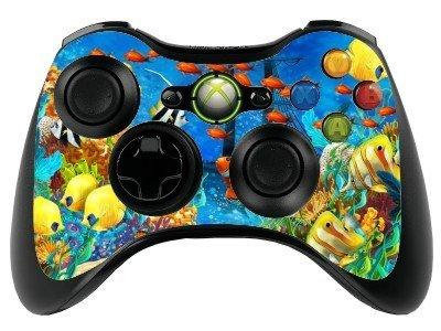 The Grafix studio Fisch Xbox 360Fernbedienung Controller/Gamepad Skin/Cover/Vinyl Wrap xbr39