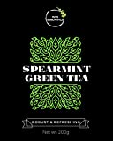 #2: Raw Essentials Spearmint Green Tea 200 g (Hand-picked, Premium Quality)