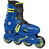 Roces Orlando Pattino In Linea Unisex, Unisex bambini, Blue/Lime, 36-40