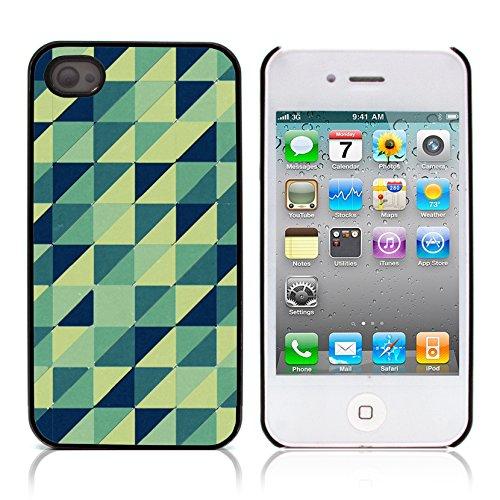 Graphic4You PLAID Muster Harte Hülle Case Tasche Schutzhülle für APPLE IPHONE 4 und 4S Design #8