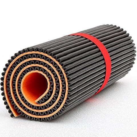 Mondaplen Gym Mat: tapis d'exercice réversible pour le Fitness, le Yoga, le Pilates, l'entraînement et (Reversibile Mat)