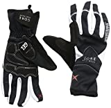GORE BIKE WEAR Damen Handschuhe ALP-X 2.0 Soft Shell , black/white, 5, GWALPF990105