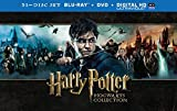 Harry Potter  - Hogwarts Collection [Blu-ray + DVD] [2001] [Region Free]