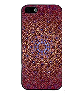 printtech Ethinic Pattern Back Case Cover for Apple iPhone 5C