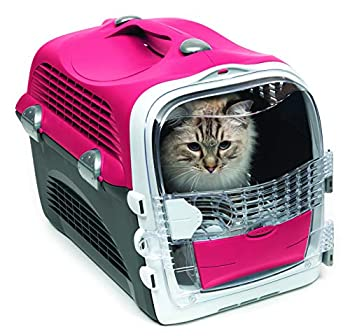 Cat it Catit Cabrio de Transport Rouge Cerise