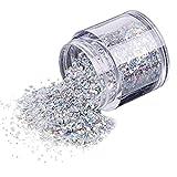 VENMO 10g / Box Gold-Silber Nagel Glitzerpulver Shinning Nagel Spiegelpulver (Mehrfarbig)