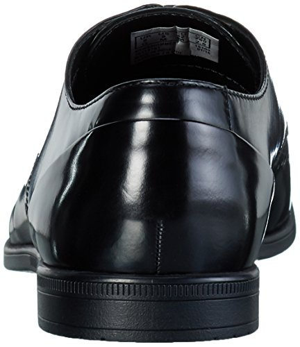 Clarks Bampton Limit, Brogues Homme Noir (Black Hi-Shine)