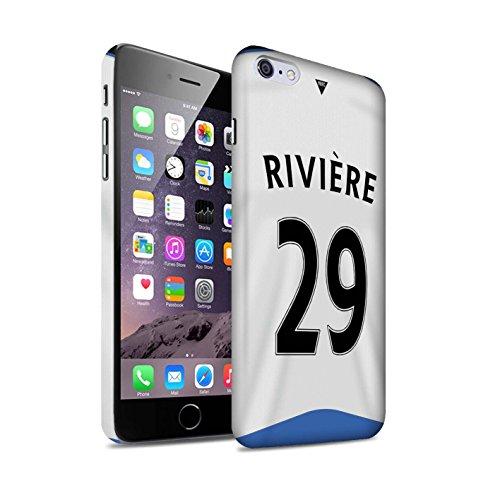 Offiziell Newcastle United FC Hülle / Matte Snap-On Case für Apple iPhone 6S+/Plus / Pack 29pcs Muster / NUFC Trikot Home 15/16 Kollektion Rivière