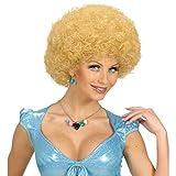 Blonde 70er 80er Jahre Afroperücke Engel Lockenperücke Unisex Blondie Afro Haare Locken Perücke Schlagerparty Lockenkopf Kostüm Zubehör