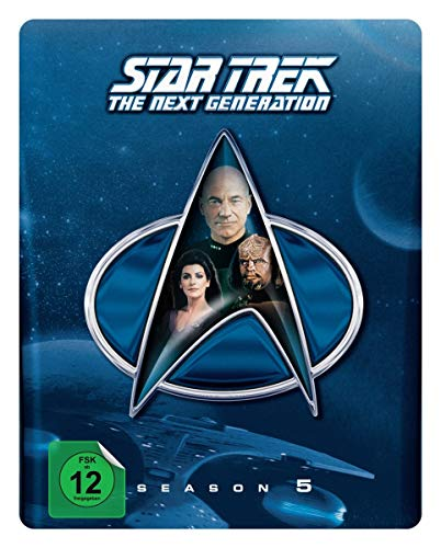 Star Trek: The Next Generation - Season 5 (Steelbook) [Blu-ray] [Limited Collector's Edition] [Limited Edition] -