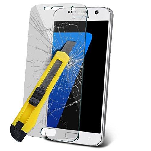 Étui pour HTC Desire 626 / HTC Desire 626 E5603, E5606, E5653 Titulaire de téléphone Case voiture universel Mont Cradle Tableau de bord et pare-brise pour iPhone yi -Tronixs S7 Glass (1 Pack)
