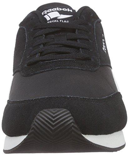Reebok Royal Classic Jogger 2, Chaussures de Running Compétition Homme Noir (Black/White/Baseball Grey)