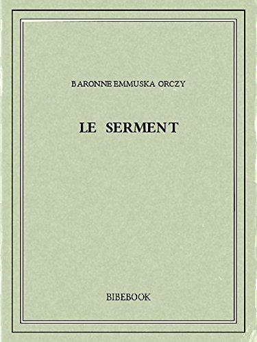 Couverture du livre Le serment