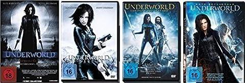 Underworld 1-4 : FSK-18 DVD Set - Deutsche Originalware [5