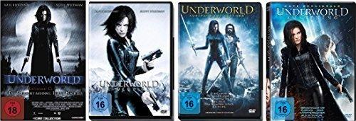 Underworld 1-4 : FSK-18 DVD Set - Deutsche Originalware [5 DVDs] (Underworld Dvd)