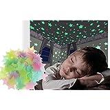 Pack de 15 estrellas autoadhesivas fluorescentes decorativas para la habitación 608124 mws1668