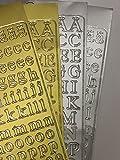Taufkerze Junge Lebensbaum 250/60mm inkl. Beschriftung-Set GOLD & SILBER -