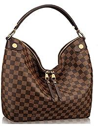 Louis Vuitton Auténtico Damier Duomo Hobo bolso de hombro artículo: n41861 fabricado ...