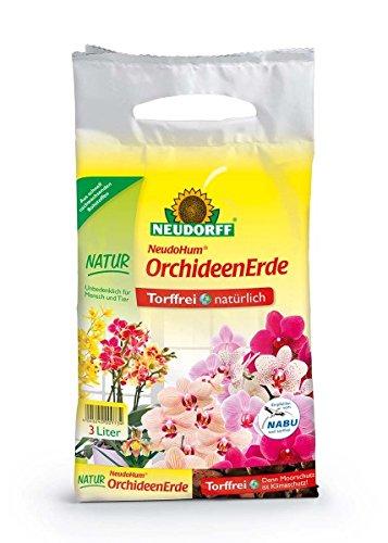Neudorff neudohum Orquídeas Tierra 3litros