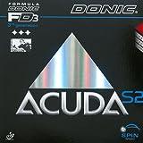 DONIC Belag Acuda S2, schwarz, 1,8 mm
