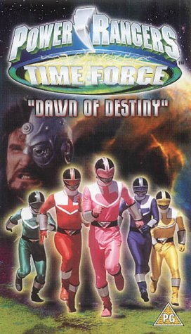 Image of Power Rangers Time Force: The Dawn Of Destiny [VHS]