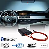 BMW Bluetooth Freisprecheinrichtung A2DP USB SD AUX MP3 WMA Player Glasfaser Adapter Interface Fahrzeug CCC iDrive Business Professional E60 E61 E63 E64 E70 E71 E81 E82 E87 E88 E90 E91 E92 E93