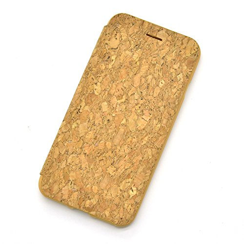 iPhone 7 Plus Hülle,iPhone 7 Plus Wallet Case,Sunroyal Retro Braun Holz Wood Grain Muster Design Flip Schutzhülle Ledertasche LederHülle HandyHülle Hüllen Cover mit Standfunktion Kunstleder für iPhone Pattern 01